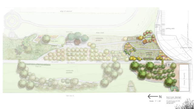 Phase I for Beacon Food Forest